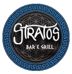 Stratos Bar and Grill logo